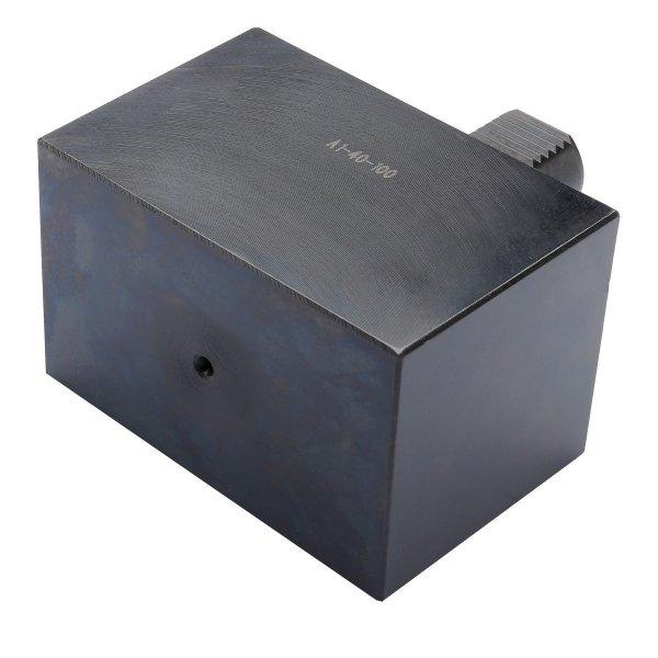 Werkzeughalter Rohling Form A1, rechteckig 20-100-60-65 DIN 69880 (ISO 10889)
