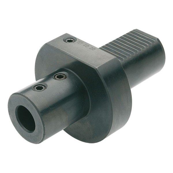 Bohrerhalter für Wendeplattenbohrer E1-20x16 DIN 69880 (ISO 10889)