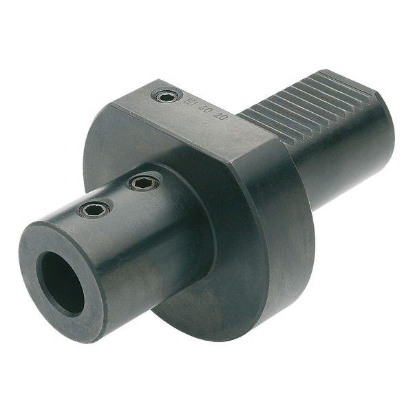 Bohrerhalter für Wendeplattenbohrer E1-20x20 DIN 69880 (ISO 10889)